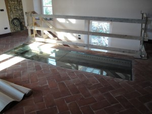 interior floor glass