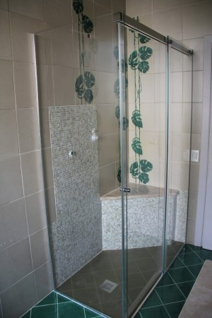 Complete shower cubicle to civil house