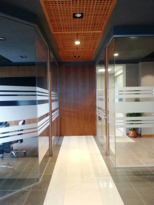 Internal Partition Walls for offices of new AVR