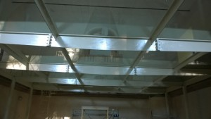 Glass interior flooring