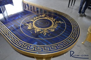 Table with digital printing